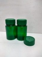 Botol PS 200 ml hijau / botol herbal hijau