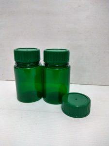 Botol PS 200 ml hijau / botol herbal hijau