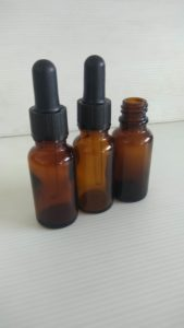 Botol pipet 20 ml amber